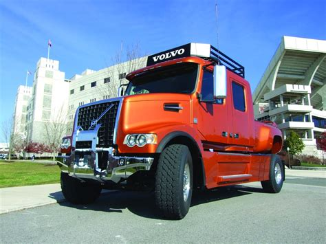 where are volvo trucks made volvo trucks showcases custom built vhd pickup