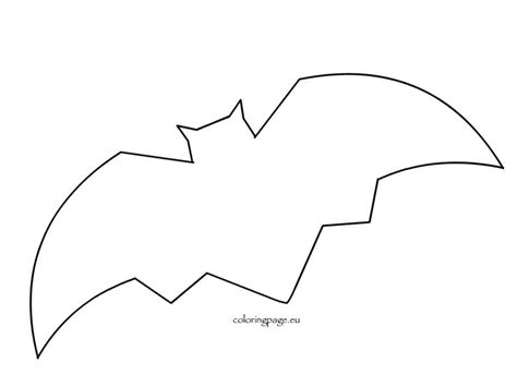 bat templates free free bat template preschool