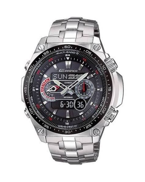 casio gents edifice wave ceptor  ecw medb aer