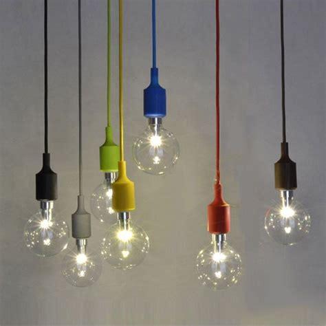 eclairage suspension couleur silicone luminaire suspension style europ 233 en