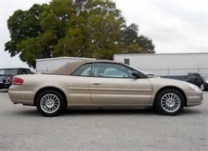 2004 Chrysler Convertible Sebring 2004 Chrysler Sebring Pictures Cargurus