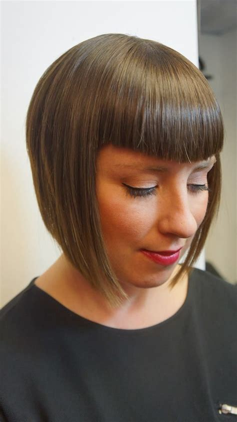 retro hairstyles bangs 745 best hair bob images on pinterest