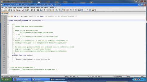 tutorial codeigniter hmvc codeigniter with hmvc setup and sle youtube
