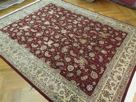 high end area rugs burgundy woven 8x10 wool silk high end area rug ebay