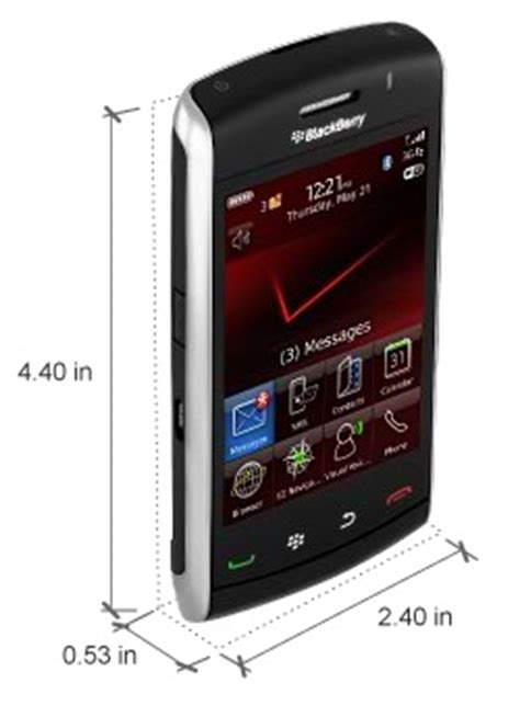 blackberry 9550 storm2 bluetooth wifi pda 3g phone verizon