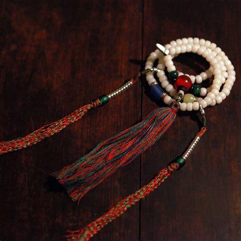 how many on a buddhist rosary blessed mala tibetan designer mala buddhist 108 prayer