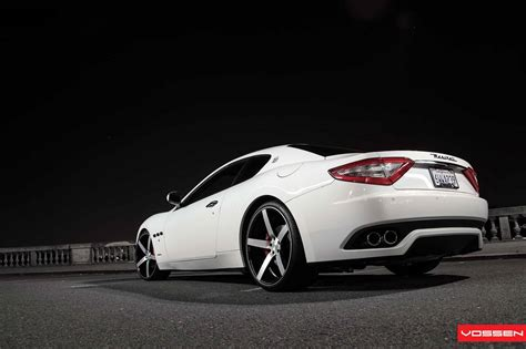 maserati vossen maserati granturismo lowered on cv3 vossen wheels gtspirit