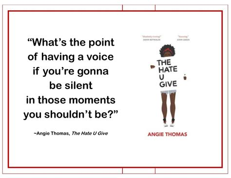 470044 the hate u give bookquote from the hate u give our favorite quotes