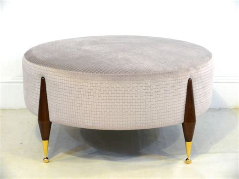 coffee table or ottoman imperial ball foot ottoman or coffee table for sale at 1stdibs