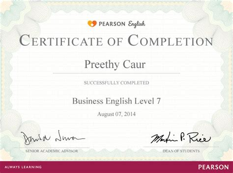 pearson english one increase your chances of passing the