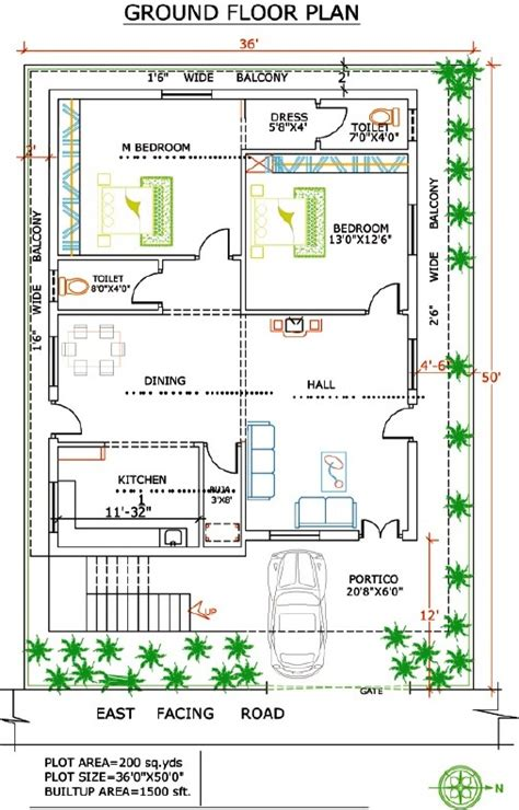 300 yards house plan duplex house plans in 250 sq yards