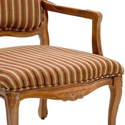 Striped Accent Chair Franklin Striped Chenille Accent Chair Dcg Stores