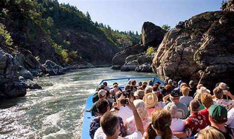 rogue river boat trips grants pass cruise the rogue river with hellgate jetboats travel oregon