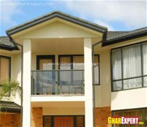 Small Home Naksa Covered Balconies Gharexpert Covered Balconies