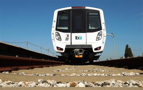 bart extension  san jose  track   cars delayed