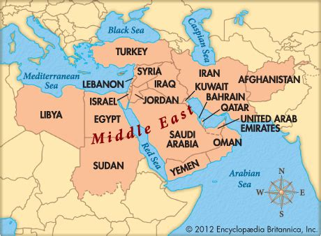 middle east map for students middle east encyclopedia children s homework