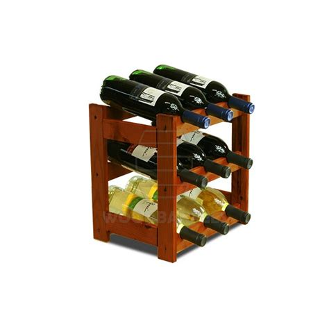 How To Rack 9 wine rack 9 bottles