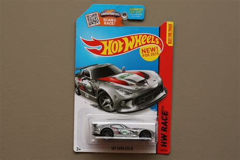 film hot wheels 2015 hot wheels 2015 hw race srt viper gts r silver
