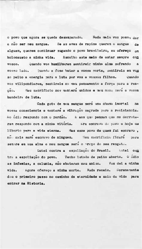 A Carta-testamento e o legado de Vargas   CPDOC