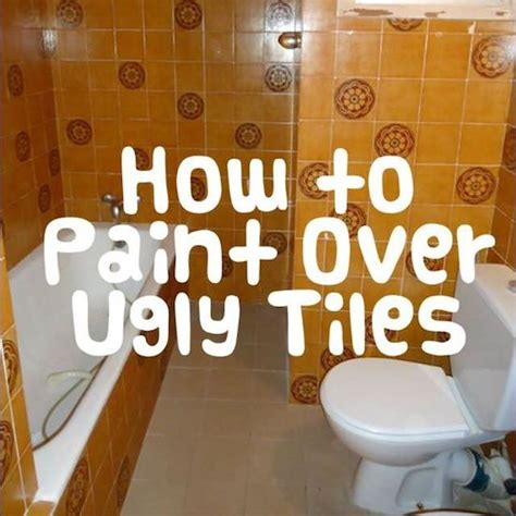 can you paint over bathroom tile 25 best ideas about painting tiles on pinterest painted