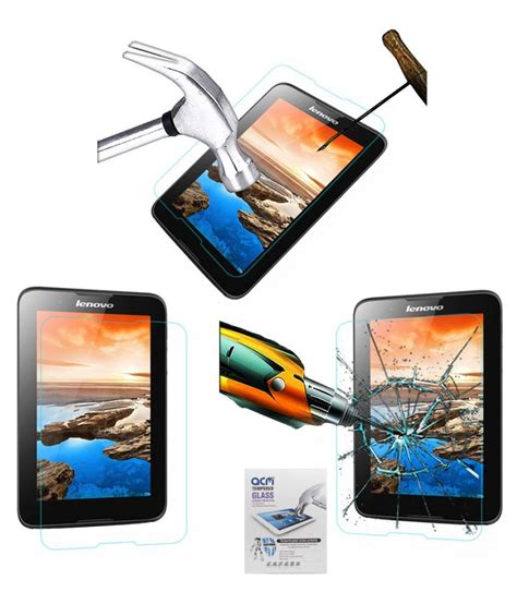 Tempered Glass Lenovo Tab 2 A7 30 Screen Protector Antigores Kaca lenovo tab a7 30 a3300 tempered glass screen guard by acm screen guards at low prices