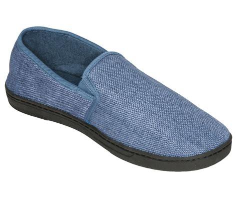 Linen Insole by Deluxe Comfort Mens Memory Foam Slipper Size 9 10 Soft