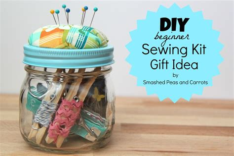sewing gift ideas diy beginner sewing kit gift idea tutorial smashed peas