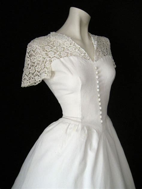 1940s Vintage Wedding Dresses by 1940s Wedding Dress My Style
