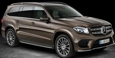 mercedes suv 7 seater mercedes launches upgraded 7 seater suv gls 350d