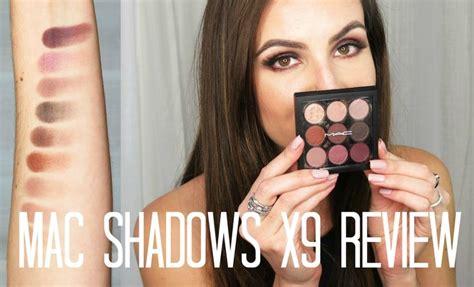 Eyeshadow X 9 Burgundy Times Nine Review mac burgundy times nine eye shadow palette review demo