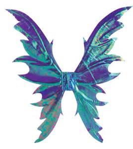 Deluxe purple fairy wings funtober costume accessories