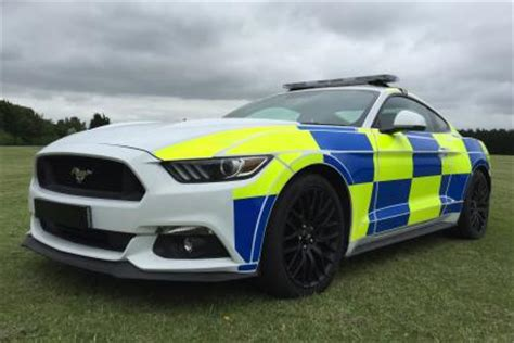 police ford mustangs could join the fleet of uk forces