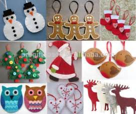 Customized Photo Christmas Ornaments 2015 New Sale China Handmade Fabric Bird Craft Wholesale Custom Nativity Ornament Gift Felt