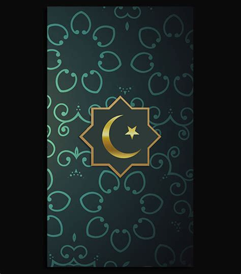 islamic wallpaper for iphone 6 islamic green hd iphone 6 wallpaper background