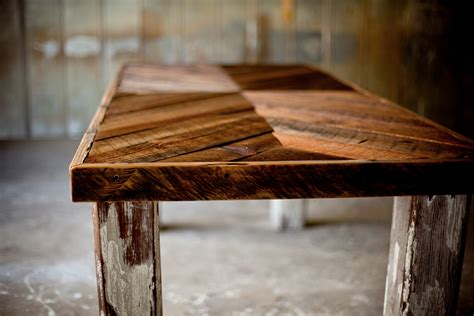 A Farm Table by The Manning Farm Table Reclaimed Wood Farm Table