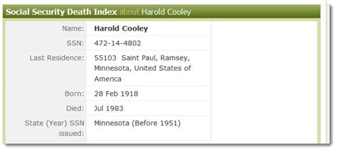 Ancestry Social Security Records The Birth Record Is Missing What Can I Do Ancestry