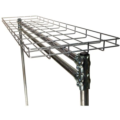 quality fabricators silver 60 quot top wire shelf for clothes