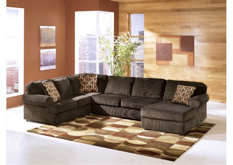 vista chocolate sectional warehouse furniture vista chocolate right facing chaise