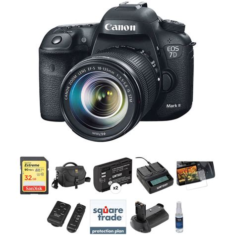 Canon Eos 7d Murah canon eos 7d ii dslr with 18 135mm lens and deluxe