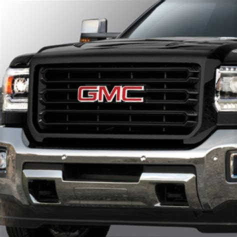gmc 2500hd grille 2016 2500 grille colored inserts and surround