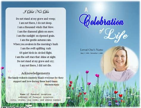 Loading Memorial Celebration Of Life Ideas Pinterest Program Template Wallpapers And Celebration Of Template Free