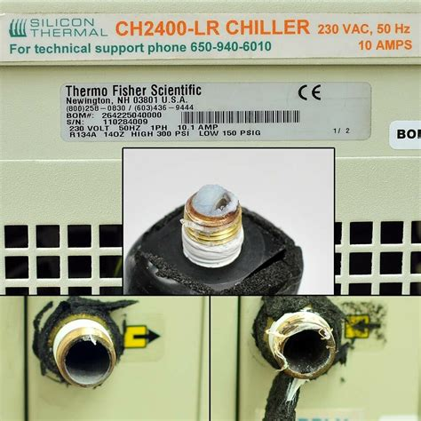 thermo  air cooled water chiller parts