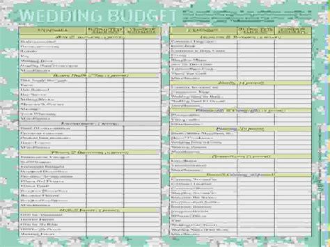 Wedding Budget South Africa by Wedding Budget Checklist South Africa Archives 43north Biz