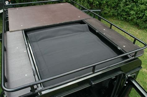 range rover sunroof open land rover defender 90 with electric sunroof and roof rack