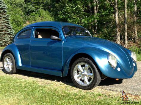 best volkswagen 1964 vw beetle blue 6 quot chop top with doors