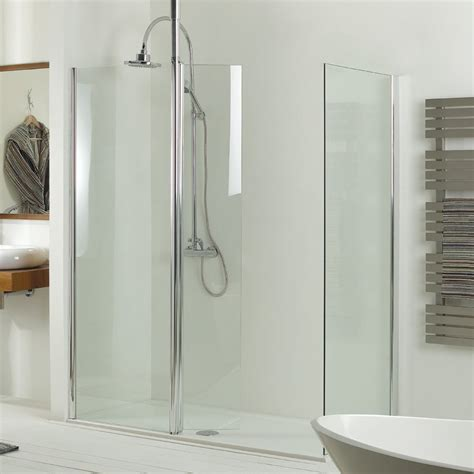 Shower Room Door Boston Swing 6mm Modern Room Shower Screen Inc Hinged Return