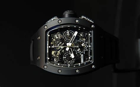Rm011 Black richard mille rm 011 automatic flyback chronograph black