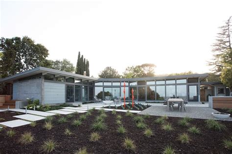 midcentury modern architecture 1950s ellis jacobs home transformed into mid century modern