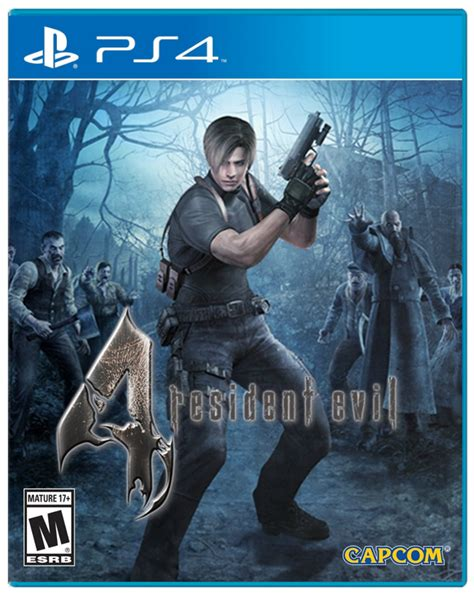 Ps4 Resident Evil 4 By Cgbgameshop resident evil 4 hd ps4