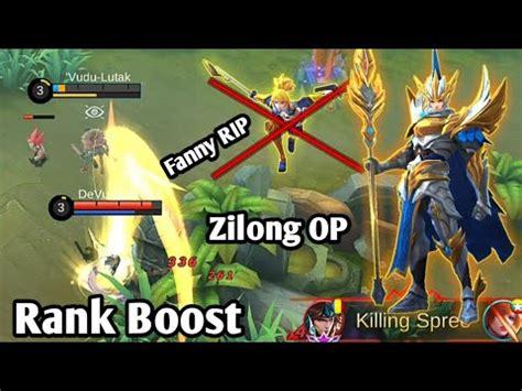 tutorial mobile legend zilong fanny rip zilong op mobile legends bang bang ranked